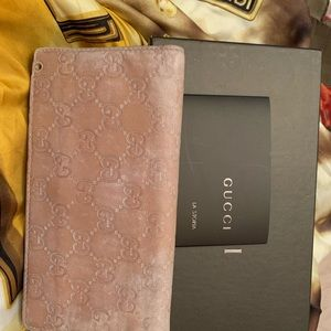 Authentic Gucci large wallet